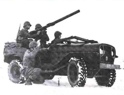 M201 modified versions 106 SR