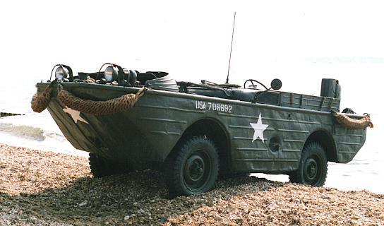 Ford GPA amphibious jeep story