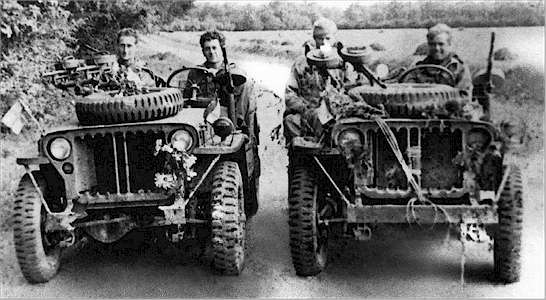 SAS jeep album page.
