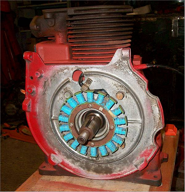 1985 310 Charges 15 Plus Volts - Wheel Horse Electrical